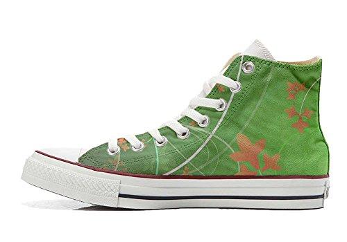 Hi chaussures Imprimés Star Green Sneaker artisanal Italien coutume All Unisex Fantasy Personnalisé Converse produit et wnTYXqwf