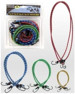 18 24 36 /& 42 12 Sterling Xtreme Stretch Bungee Cords Assorted sizes 12 36 /& 42 24 12 CORDS 18 12 CORDS