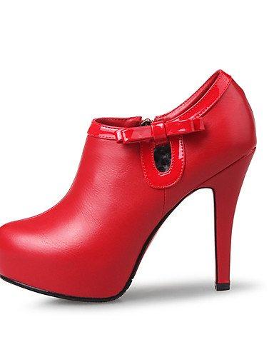 Botines Stiletto Cn40 5 Uk6 White Plataforma De Y Red Fiesta us6 Cn36 Mujer Noche Punta Uk4 Eu39 Zapatos Cerrada tacones Vestido Puntiagudos us8 Zq tac¨®n tacones boda 5 Eu36 xIq10Igw