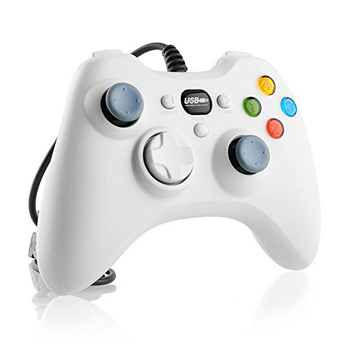 New Wired USB Gamepad Controller Joystick Joypad Resembles XBox 360 for PC WHITE (Gta San Andreas Pc Download)