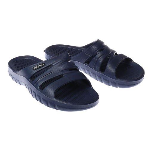 Diadora - Sandalias de vestir de goma para hombre Azul