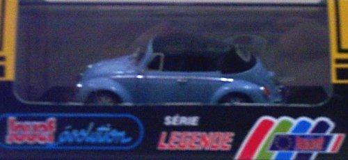 Jouef 1027 1978 VW Beetle 1303 - Soft Top - Light Blue with Black Top - Legend Series - 1:43 Scale Diecast
