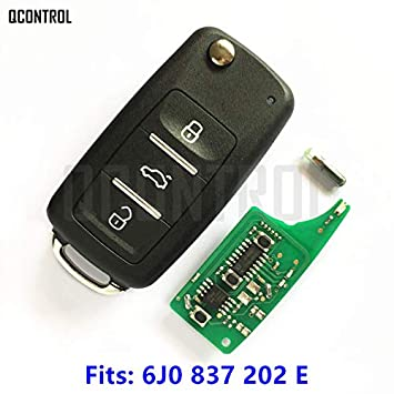 QCONTROL - Llave de Coche remota para Seat 6J0837202E ...