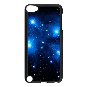 iPod Touch 5 Case Black Blue stars P6682376