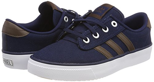 0 collegiate Adidas brown Baskets Navy Kiel White Adulte Bleu Mixte footwear TrTvq6U