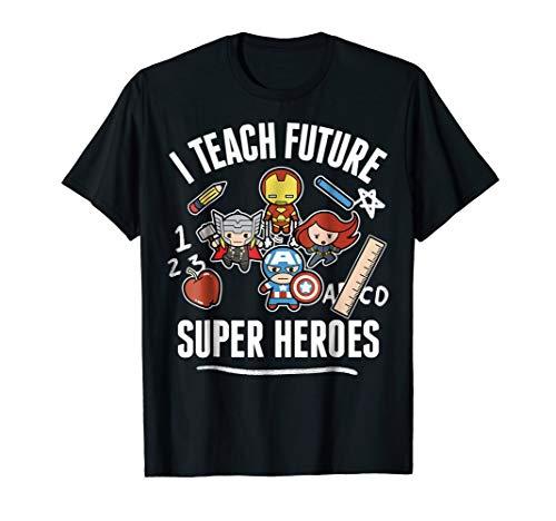 Marvel Avengers Classic I Teach Super Heroes Graphic T-Shirt -