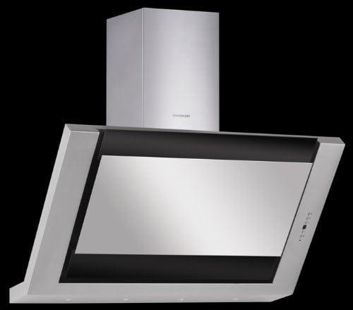 Silverline Leo Deluxe 80 - Campana de pared sin cabeza, con aspiración, color negro: Amazon.es: Grandes electrodomésticos