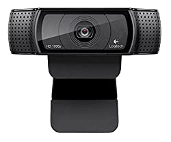 Logitech Hd Pro Webcam C920, Widescreen Video Calling & Recording, 1080p Camera, Desktop Or Laptop Webcam