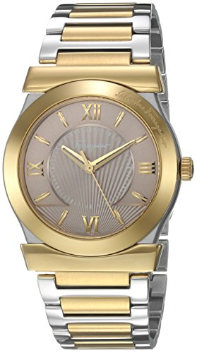 Salvatore-Ferragamo-Womens-VEGA-GENT-Quartz-Stainless-Steel-Casual-Watch-ColorTwo-Tone-Model-FI0900016