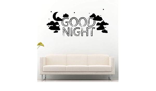 ljradj Buenas Noches Palabras Luna Nubes Estrellas Sueño ...