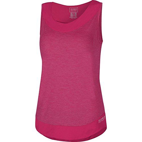 - Gore Bike WEAR Women's Mountainbike Top, Sleeveless, Super-Light, Gore Selected Fabrics, Power-Trail Lady Singlet, Size 40, Jazzy Pink, IIFLOW