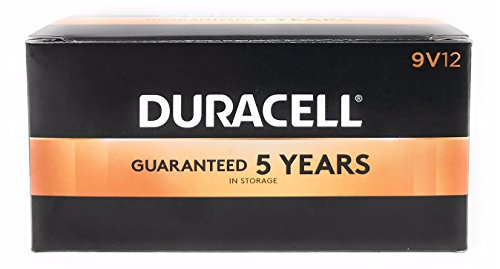 Duracell Coppertop 9v Batteries - Duracell Coppertop 9V 12 Pack MN1604BKD