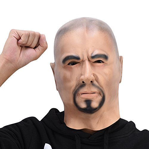 PARTY STORY Strong Man Latex Mask Halloween Novelty Costume Rubber Full Head Masks