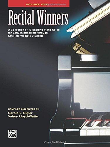 Read Online Recital Winners, Bk 1 (Alfred Masterwork Editions) ebook
