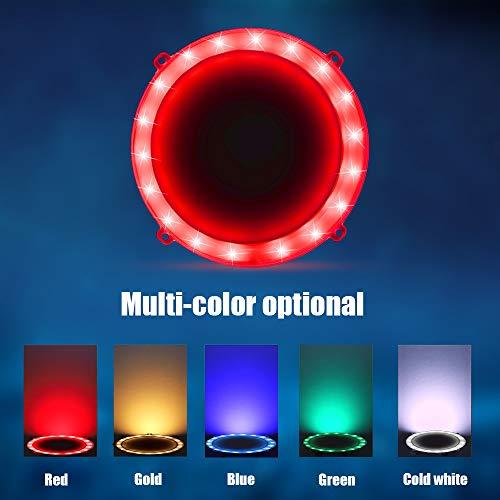 BLINNGO Cornhole LED Board Lights, LED Cornhole Lights Meet Regulation Cornhole Boards(4 feet x 2 feet), Waterproof Cornhole LED Lights (Two Set)-red