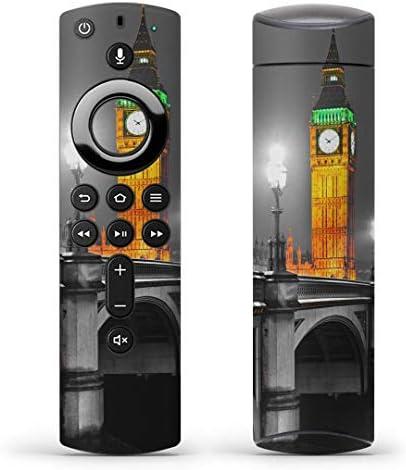 igsticker Fire TV Stick 第2世代 専用 リモコン用 全面 スキンシール フル 背面 側面 正面 ステッカー ケース 保護シール 000995 写真・風景 風景 街