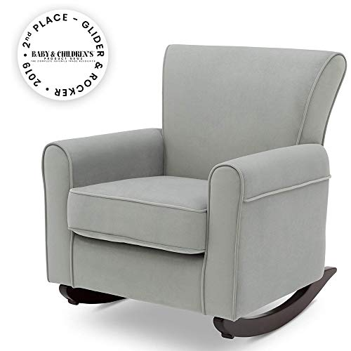 Delta Children Lancaster Rocking Chair Featuring Live Smart Fabric, - Chairs Swivel Rocking