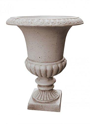 Urn Vintage (Serene Spaces Living Vintage Rust White Urn)