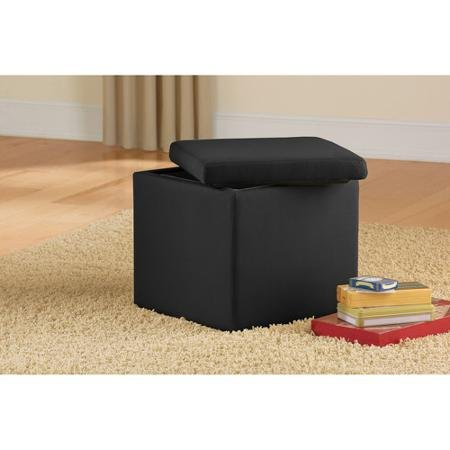Mainstays Faux Suede Ultra Storage Seat