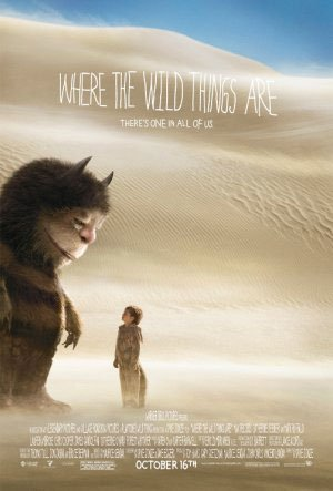 Where The Wild Things Are Original Movie Poster