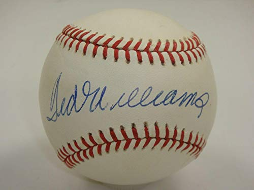 Autographed Ted Williams Ball - Rawlings Al Beckett Bas Certified #a65879 - Beckett Authentication - Autographed Baseballs