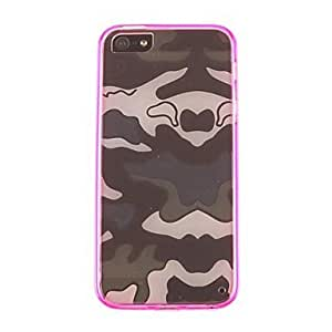 Zaki Water Moire Patterns PC and TPU Case for iPhone5/5S (Assorted Colors)