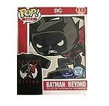 Funko Unisex-Adult's POP Tees: DC Heroes-Batman Beyond Moon, Black, 2XL