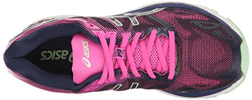 Asics para Nimbus Glow Paradise Rosado Zapatillas Índigo Running de Gel Verde 19 Mujer Azul r6qYTr