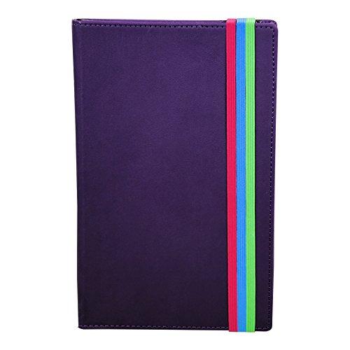 Samsill Notebook Pocket Hardbound Purple
