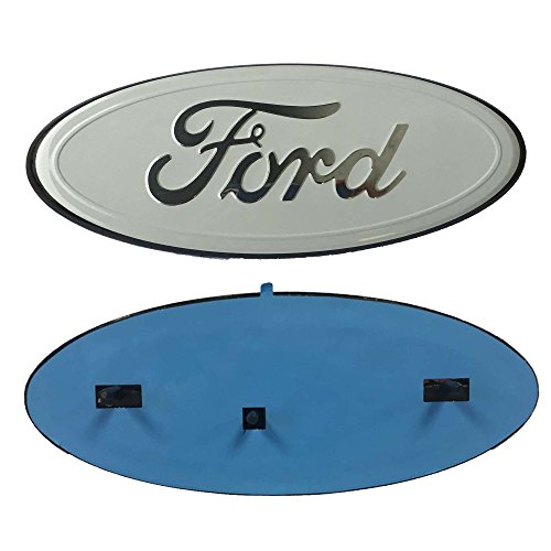 white ford emblem decal - 8