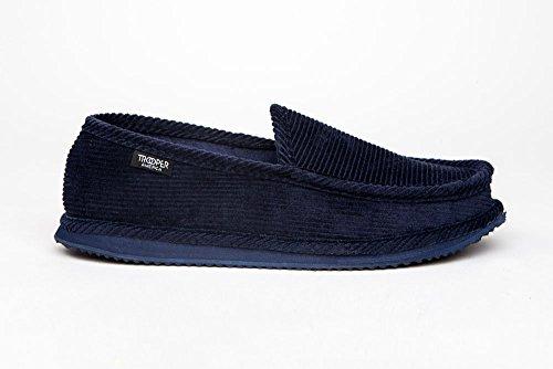Pantofole In Velluto A Coste Per Uomo In Velluto America