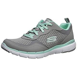 Skechers Women's Flex Appeal 3.0-go Forward Sneaker, GYMN, 5.5 M US