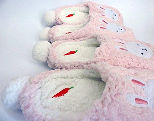 Blubi Dames Mode Nieuwigheid Slippers Klassieke Konijnen Slippers Roze
