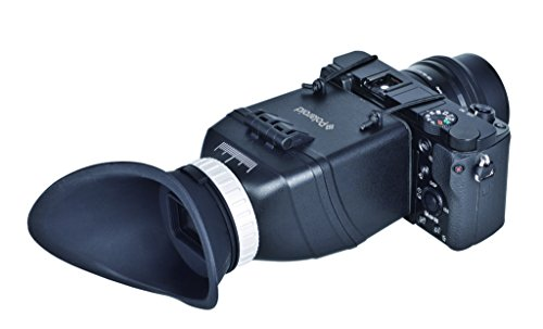 """Polaroid Viewfinder w/3x Magnification Zoom – for DSLR Cameras w/Display Screens 3"""" to 3.2"""""""