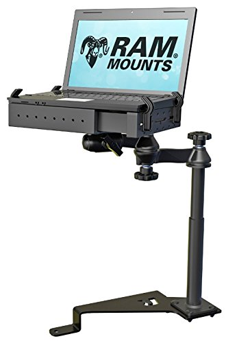 Laptop Sw1 - RAM No-Drill Laptop Mount for ('15-'18) Ford F-150 and ('17-'18) F-250-550