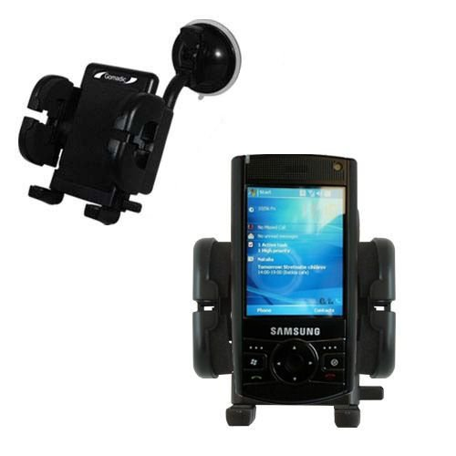 - Windshield Vehicle Mount Cradle suitable for the Samsung SCH-i760 - Flexible Gooseneck Holder with Suction Cup for Car / Auto.