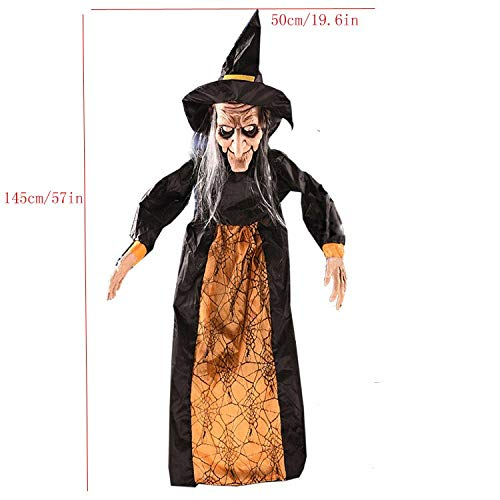 Halloween Scary Decoration Hanging Ghost Witch Reaper Haunted