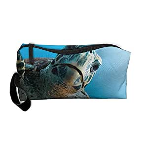 Outdoor Tavel Storage Tools Bag, Canvas Magazine Sea Turtles Small Carrying Storage Pouch Case Canvas Bags