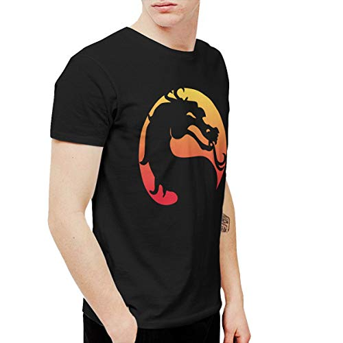 Avis N Men's Mortal Kombat X T-Shirts Black XXL