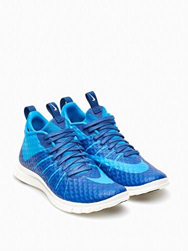 Nike Heren Gratis Hypervenom 2 Fs Loopschoen Blauw / Wit