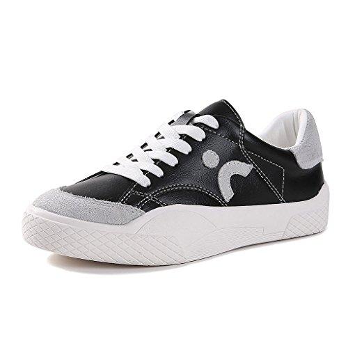 De Bajos Skate Ocio Black Estudiantil Mujer Zapatos 35 Transpirables Black Nuevos Deportivos color Tamaño Shi SFtIfwY