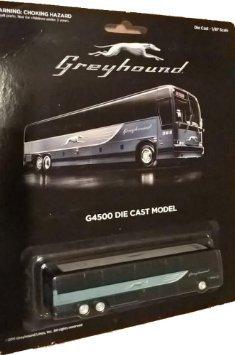 Greyhound Bus G4500 Die Cast Model - 1/87 Scale
