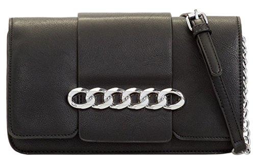 Clutch Chain HandBags Girly Black Front Bag pqPfa