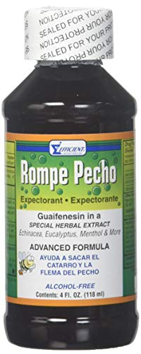 (Rompe Pecho Cough Syrup 4 Ounce (Pack of 1))