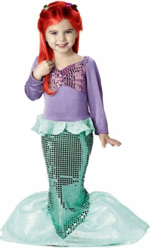 [Lil' Mermaid Costume - Toddler Medium by California Costumes] (Lil Mermaid Costumes Toddler)