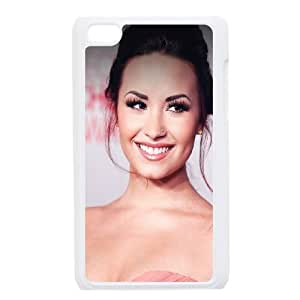 iPod Touch 4 Case White Demi Lavoto Music Girl Face J8U1HN