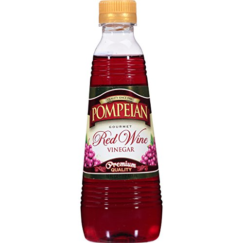 Pompeian Red Wine Vinegar, 16 Ounce (Pack of 12)