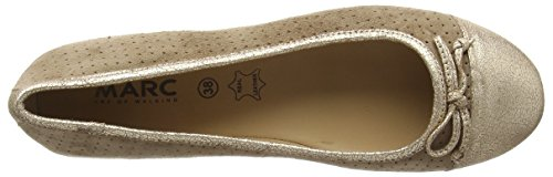Marc Shoes Bea - Bailarinas Mujer Gris - Grau (taupe-combi 261)