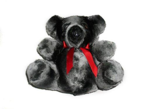 REX Chinchilla Fur Teddy Bear ()