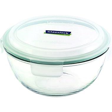 Glasslock Mixing Bowl, 3.75-Quart